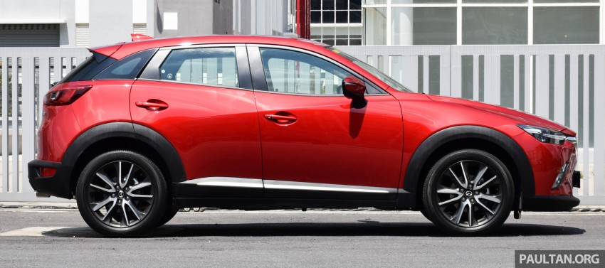 DRIVEN: Mazda CX-3 – looking at different priorities Image #433615
