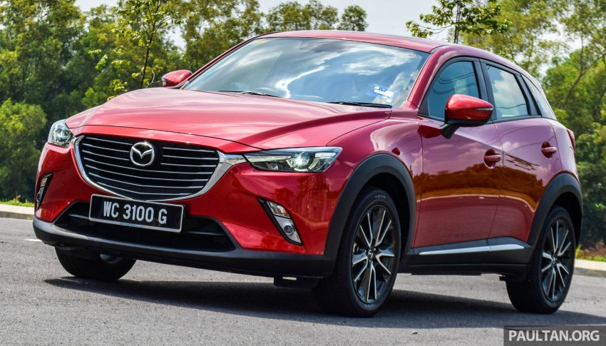 DRIVEN: Mazda CX-3 – looking at different priorities Image #433695