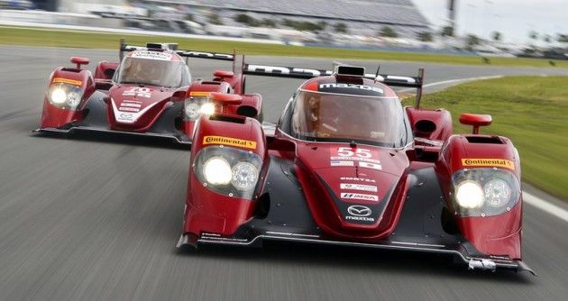 Mazda prototype racer 2