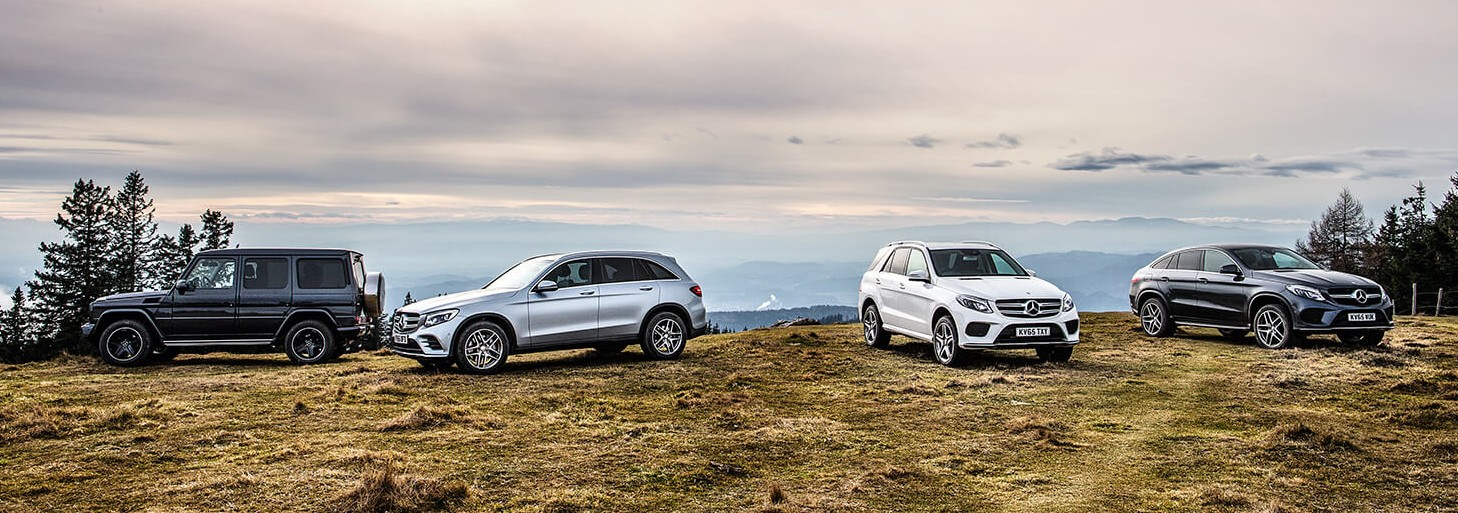 Video mercedes benz shows off its suv line up image 424333 for Mercedes benz mountain view