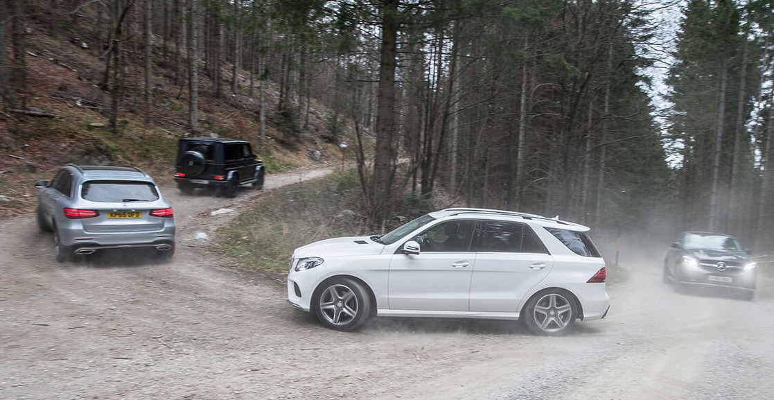 Video mercedes benz shows off its suv line up image 424339 for Mercedes benz line up