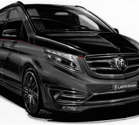 Mercedes-Benz V-Class Black Crystal by Larte Design-1