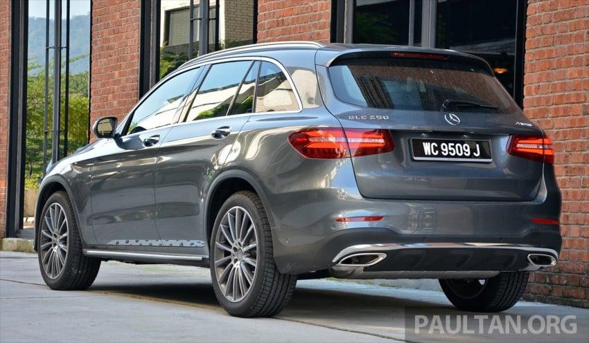 DRIVEN: Mercedes-Benz GLC250 – Star Utility Vehicle Image #428788