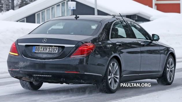 Mercedes S-Class facelift 7