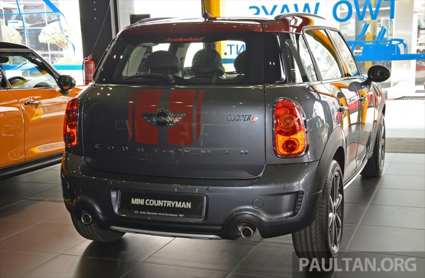 GALLERY: Limited edition MINI Countryman Park Lane Image #433517