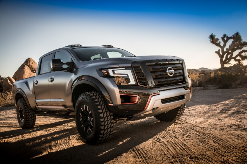 Nissan Titan Warrior Concept makes debut in Detroit Image #427343