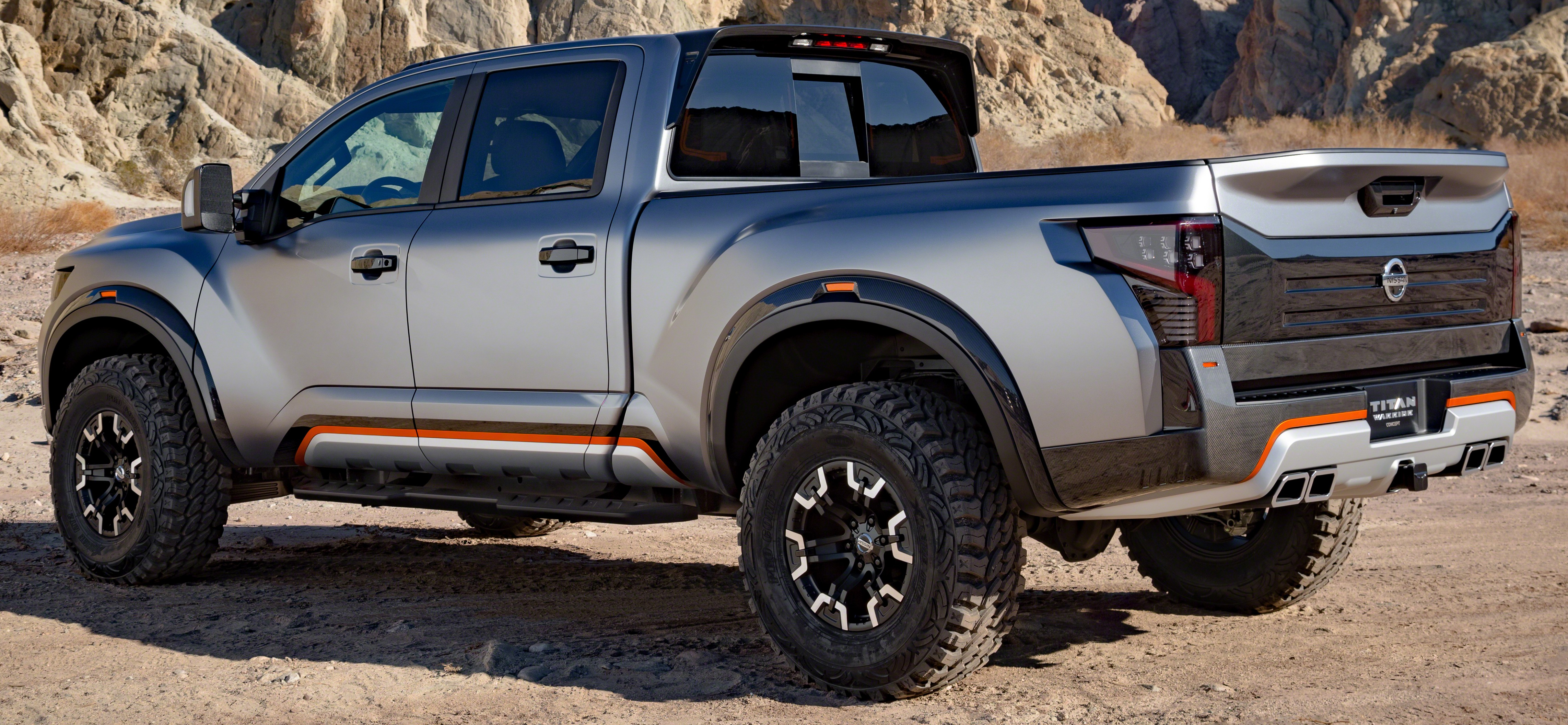 Nissan Titan Warrior Concept makes debut in Detroit Paul ...