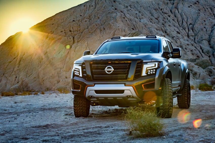 Nissan Titan Warrior Concept makes debut in Detroit Image #427363