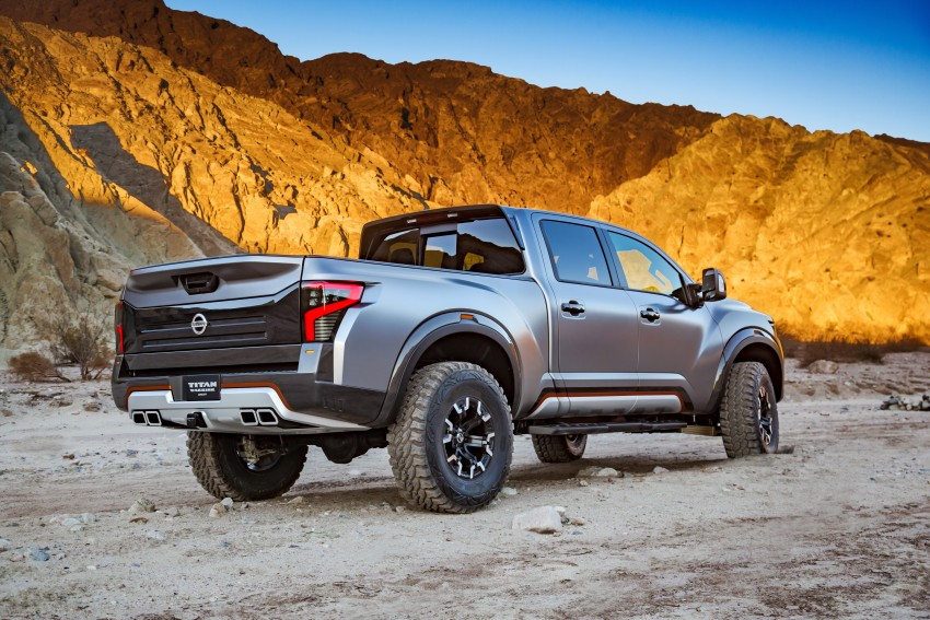 Nissan Titan Warrior Concept makes debut in Detroit Image #427366