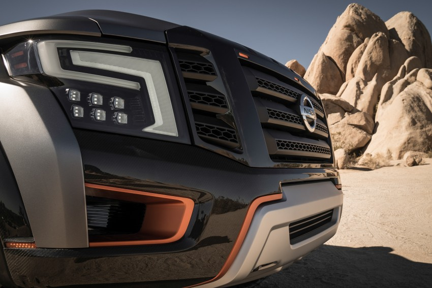 Nissan Titan Warrior Concept makes debut in Detroit Image #427375