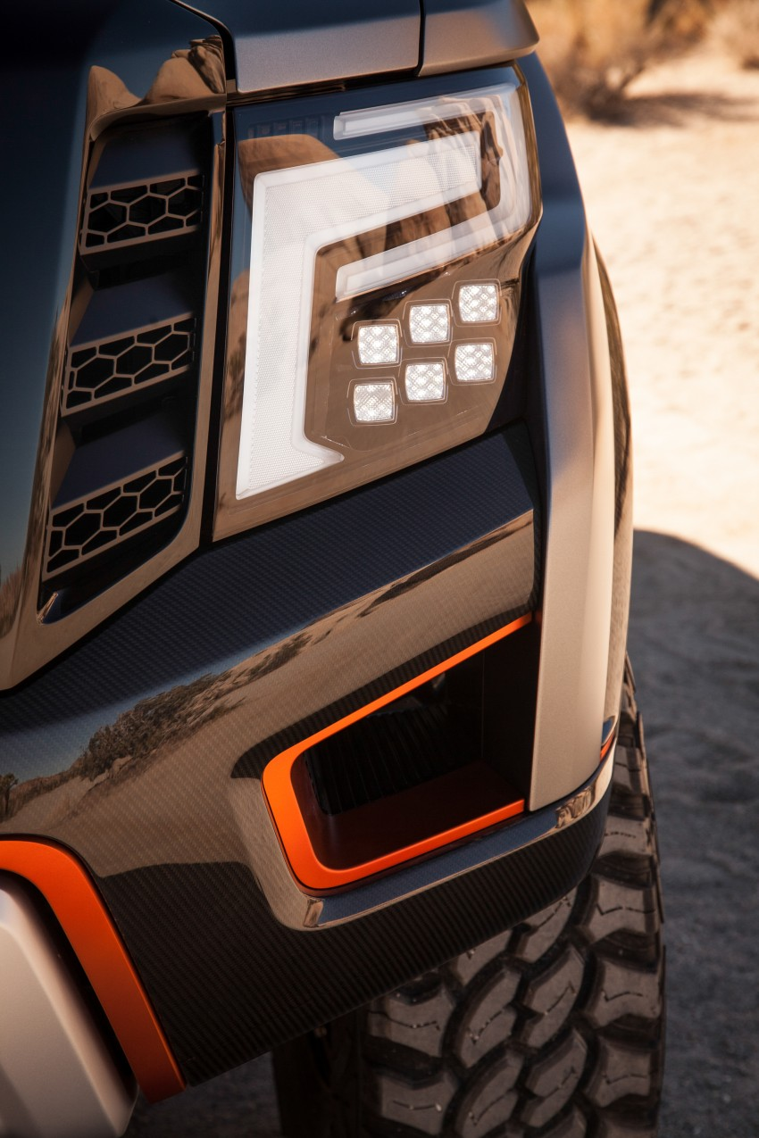 Nissan Titan Warrior Concept makes debut in Detroit Image #427379