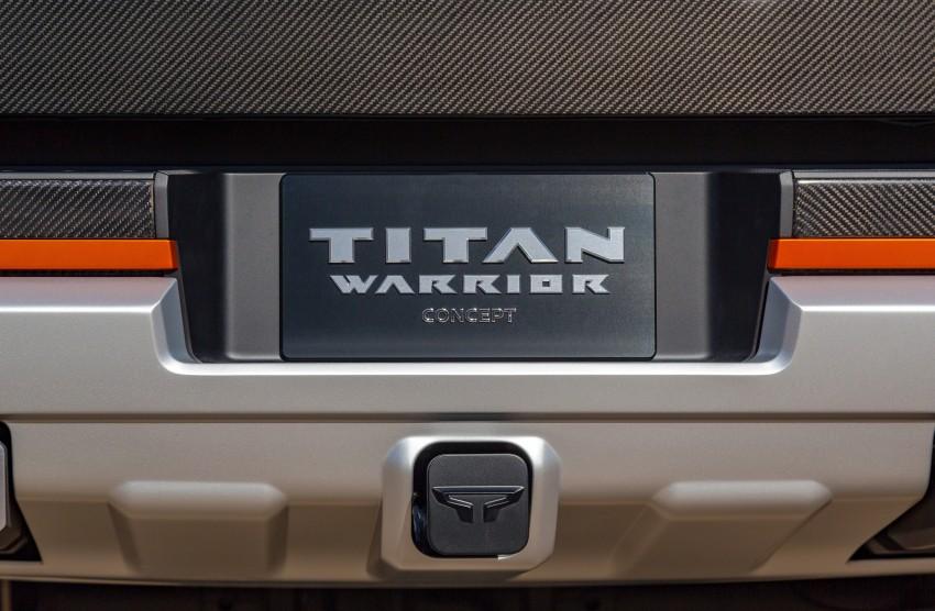 Nissan Titan Warrior Concept makes debut in Detroit Image #427382