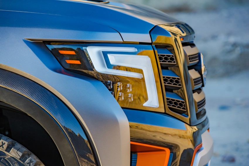 Nissan Titan Warrior Concept makes debut in Detroit Image #427400