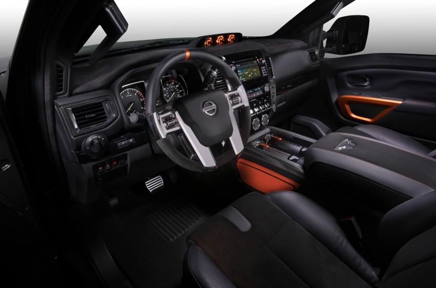 Nissan Titan Warrior Concept makes debut in Detroit Image #427403