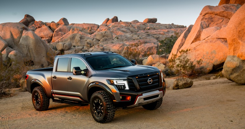 Nissan Titan Warrior Concept makes debut in Detroit Image #427348