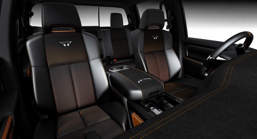Nissan Titan Warrior Concept makes debut in Detroit Image #427425