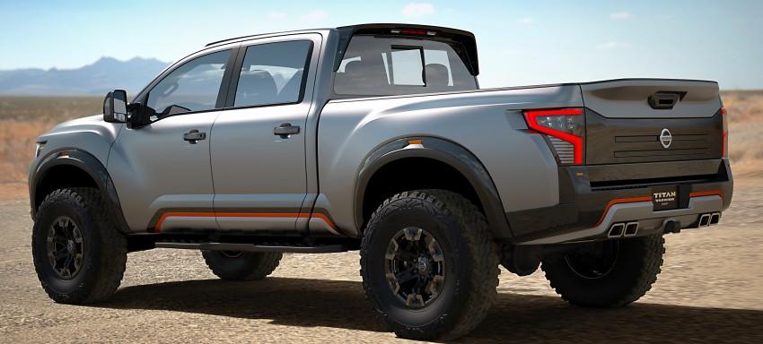 Nissan Titan Warrior Concept makes debut in Detroit Image #427428