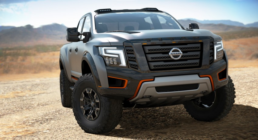 Nissan Titan Warrior Concept makes debut in Detroit Image #427429