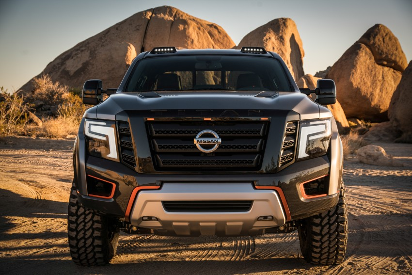 Nissan Titan Warrior Concept makes debut in Detroit Image #427350