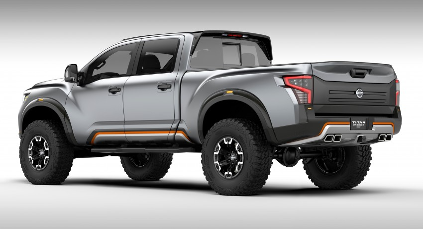 Nissan Titan Warrior Concept makes debut in Detroit Image #427430