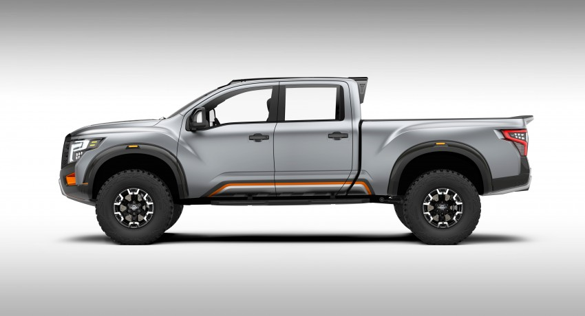 Nissan Titan Warrior Concept makes debut in Detroit Image #427431