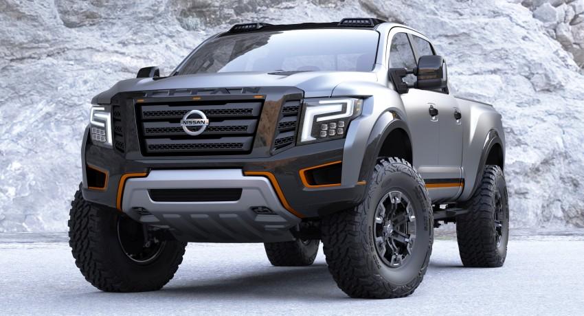 Nissan Titan Warrior Concept makes debut in Detroit Image #427434
