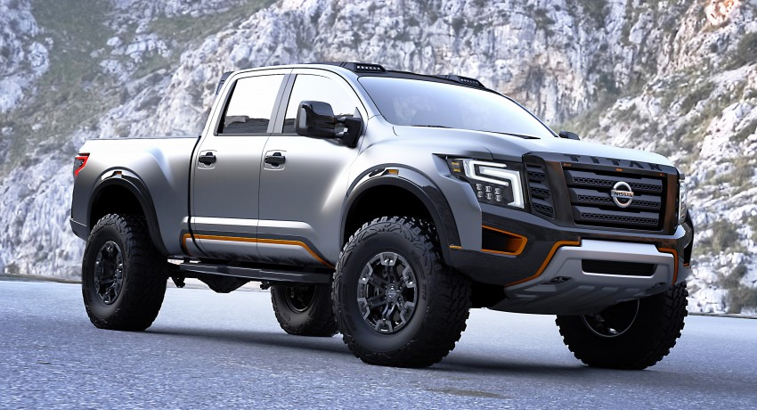 Nissan Titan Warrior Concept makes debut in Detroit Image #427435