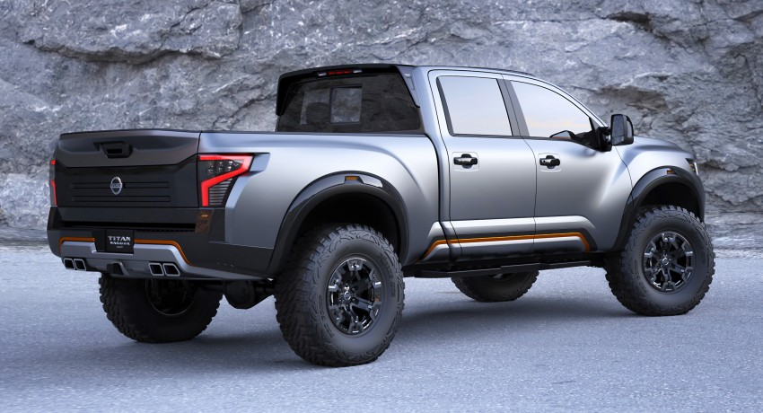 Nissan Titan Warrior Concept makes debut in Detroit Image #427436