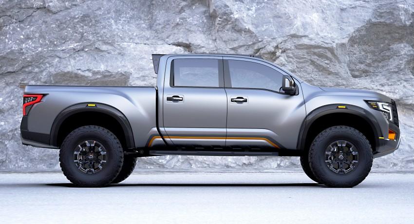 Nissan Titan Warrior Concept makes debut in Detroit Image #427437