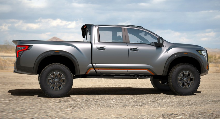 Nissan Titan Warrior Concept makes debut in Detroit Image #427438