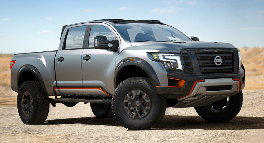 Nissan Titan Warrior Concept makes debut in Detroit Image #427440