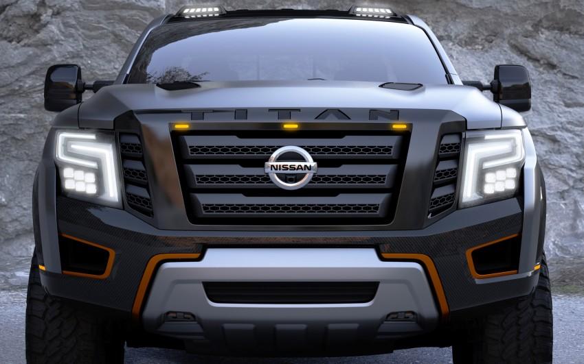 Nissan Titan Warrior Concept makes debut in Detroit Image #427442
