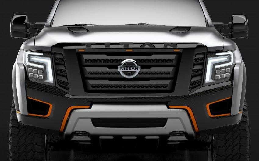 Nissan Titan Warrior Concept makes debut in Detroit Image #427446