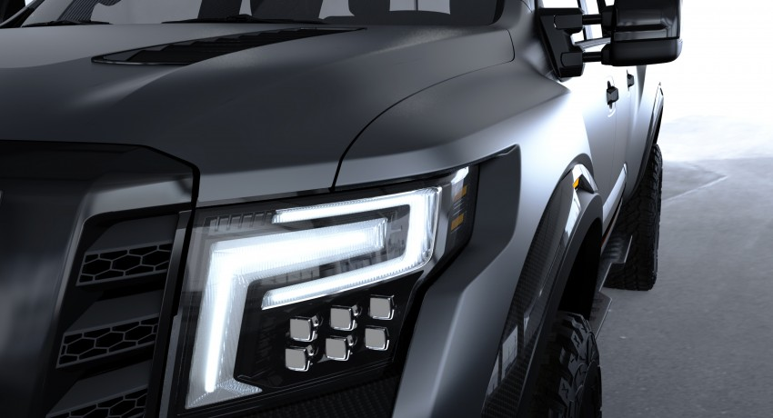Nissan Titan Warrior Concept makes debut in Detroit Image #427450