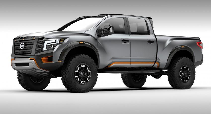 Nissan Titan Warrior Concept makes debut in Detroit Image #427451
