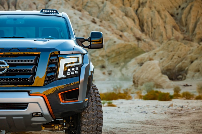 Nissan Titan Warrior Concept makes debut in Detroit Image #427353