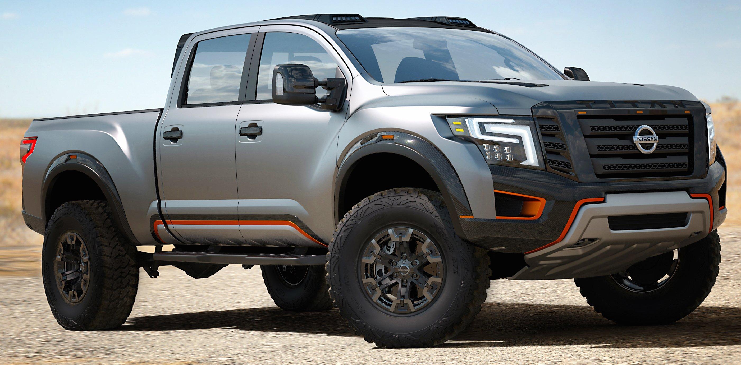 Nissan 2018 >> Nissan Titan Warrior Concept could make production Image ...