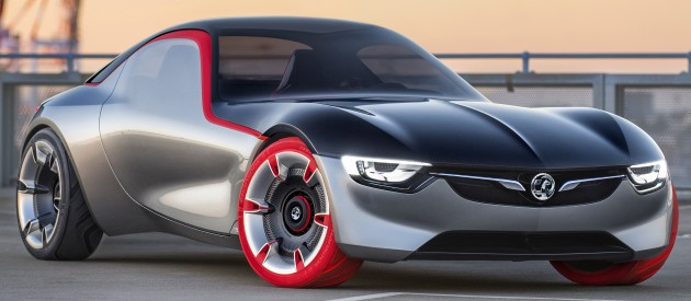 Opel/Vauxhaull GT Concept - minimalist MX-5 rival