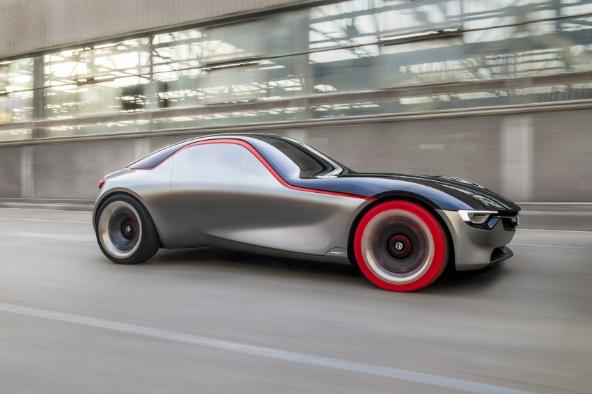 Opel/Vauxhaull GT Concept – minimalist MX-5 rival Image #435143