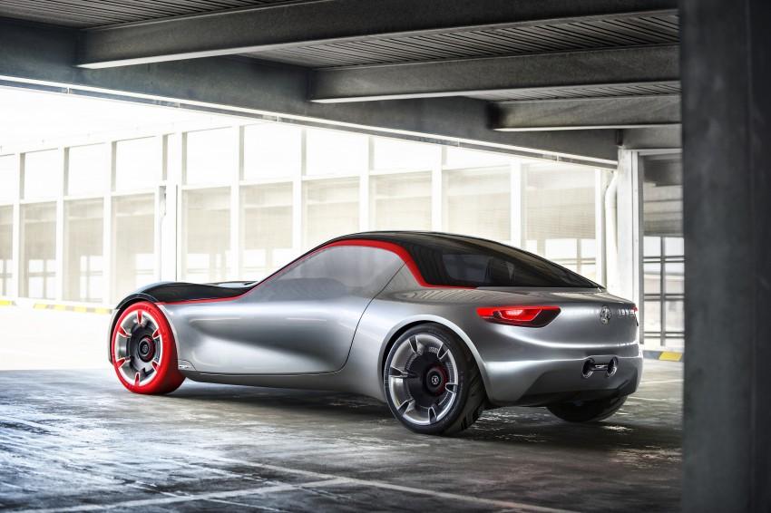 Opel/Vauxhaull GT Concept – minimalist MX-5 rival Image #435136