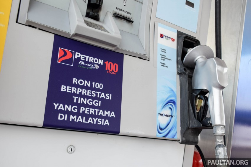 Petron Blaze 100 Euro 4M fuel launched in Malaysia – RON 100 at RM2.80 per litre; available at eight stations Image #429365