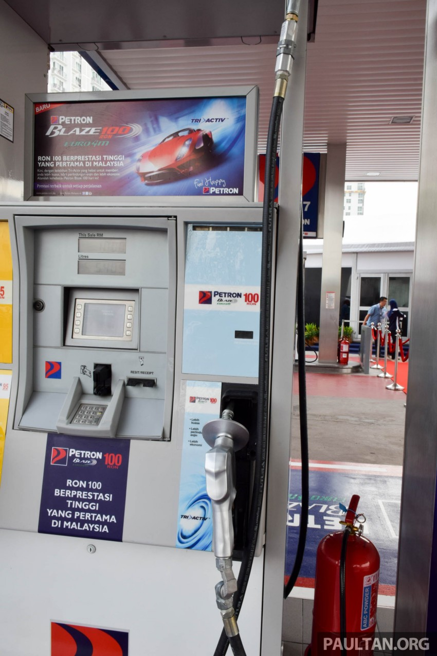 Petron Blaze 100 Euro 4M fuel launched in Malaysia – RON 100 at RM2.80 per litre; available at eight stations Image #429327