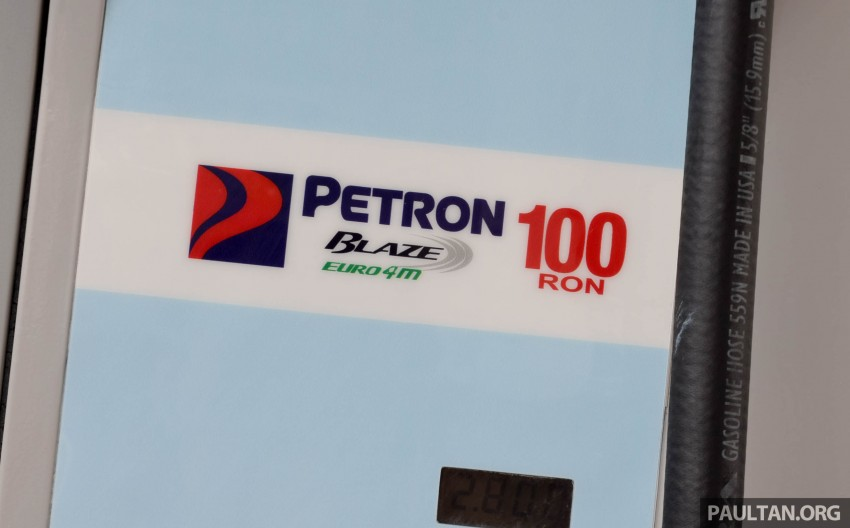 Petron Blaze 100 Euro 4M fuel launched in Malaysia – RON 100 at RM2.80 per litre; available at eight stations Image #429328