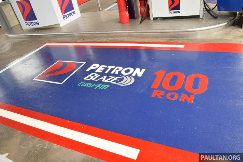 Petron Blaze 100 Euro 4M fuel launched in Malaysia – RON 100 at RM2.80 per litre; available at eight stations Image #429329