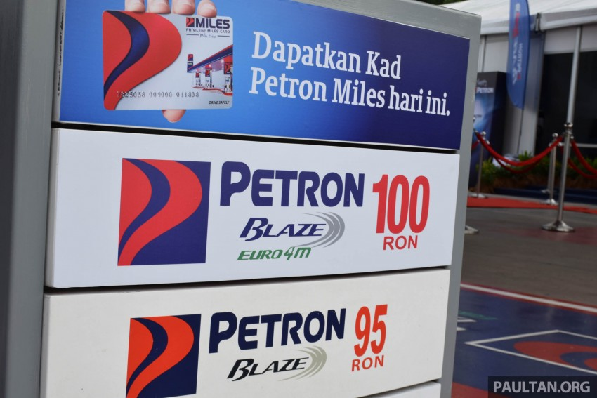 Petron Blaze 100 Euro 4M fuel launched in Malaysia – RON 100 at RM2.80 per litre; available at eight stations Image #429330