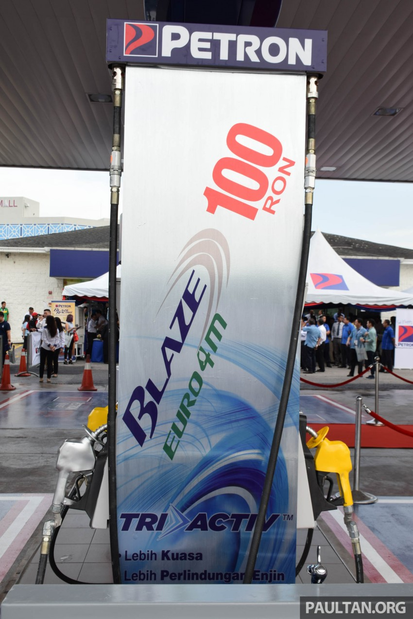 Petron Blaze 100 Euro 4M fuel launched in Malaysia – RON 100 at RM2.80 per litre; available at eight stations Image #429331