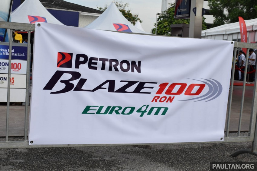 Petron Blaze 100 Euro 4M fuel launched in Malaysia – RON 100 at RM2.80 per litre; available at eight stations Image #429333