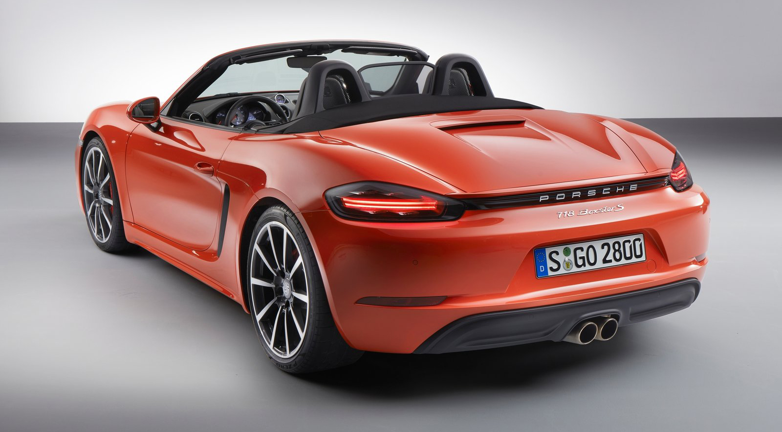 Porsche 718 Boxster Revealed Turbo Flat Four Engines Paul Tan Image 434698