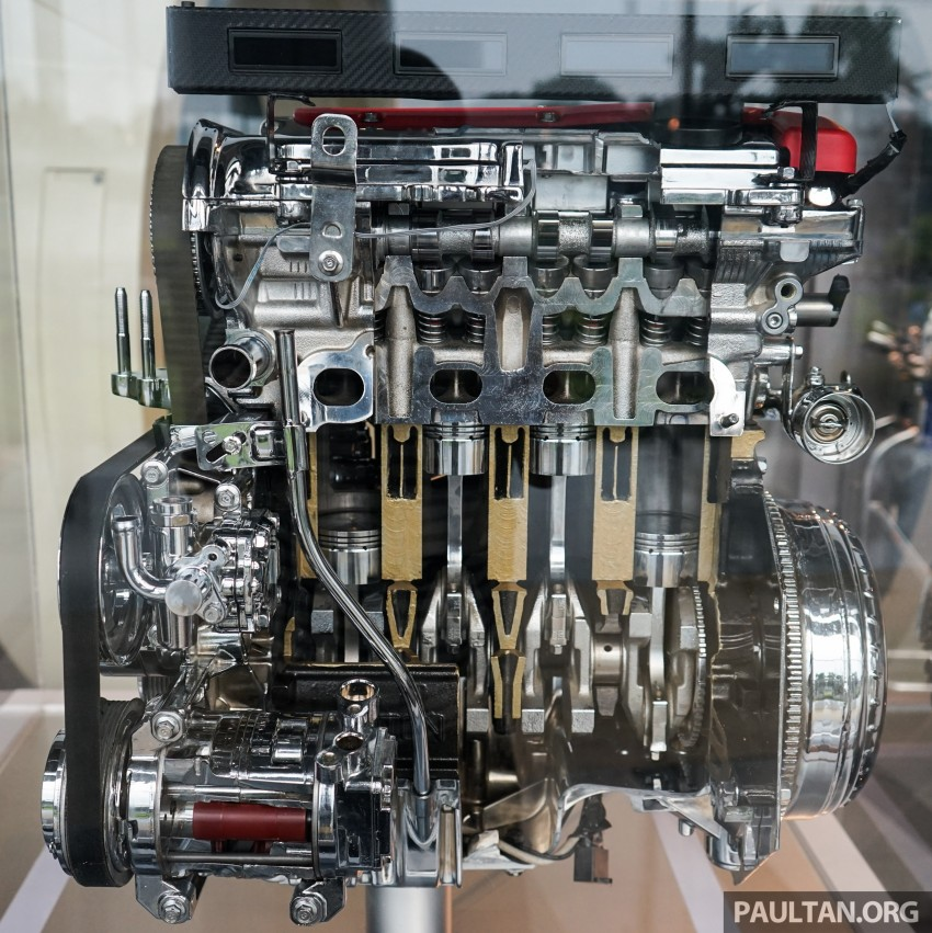 Proton new GDI and TGDI engines detailed – modular design, higher compression ratio, future-proofed Image #436114