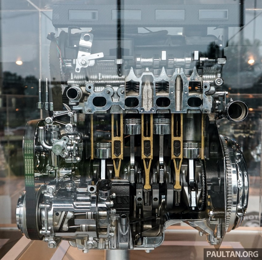 Proton new GDI and TGDI engines detailed – modular design, higher compression ratio, future-proofed Image #436115